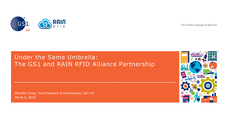 GS1 and RAIN RFID Alliance Partnership