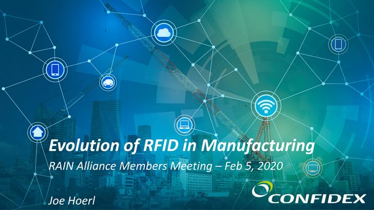 Evolution of RAIN RFID in Manufacturing