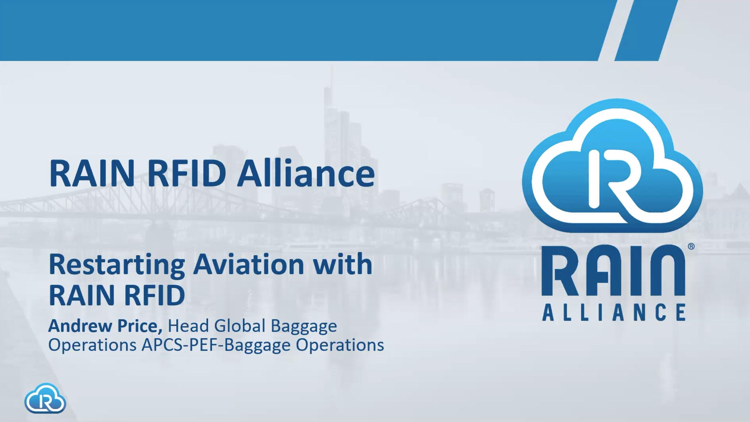 Restarting Aviation with RAIN | IATA Bag Tagging Initiative
